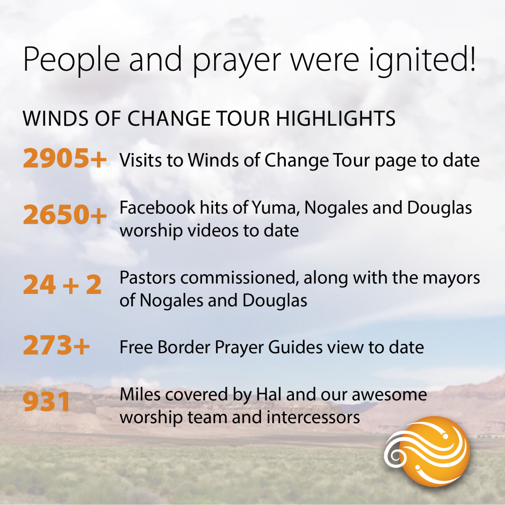 Winds of change Tour Highlights Graphic