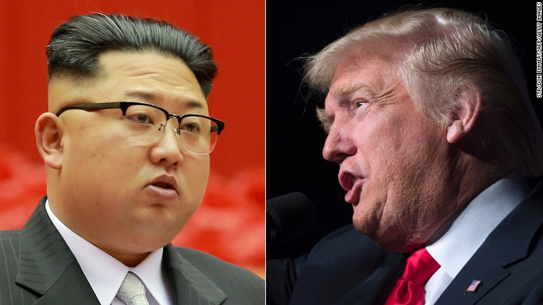 Kim Jong Un and Trump