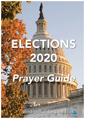 ELECTION 2020 PRAYER GUIDE COVER